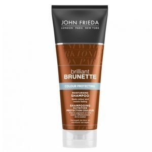 John Frieda Brilliant Brunette Color Protecting Moisturising Shampoo 250ml