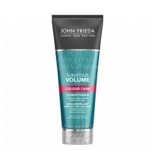 John Frieda Luxurious Volume Touchably Full Colour Treated Conditioner 250 Ml Hoitoaine