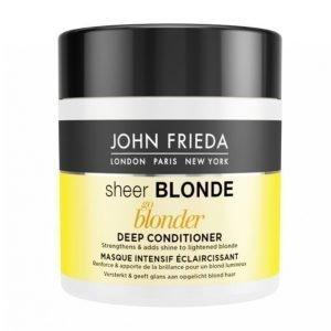 John Frieda Sheer Blonde Go Blonder Mask 150 Ml Hiusnaamio