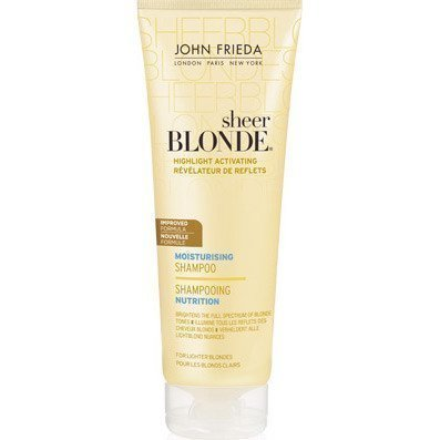 John Frieda Sheer Blonde Highlight Activating Moisturising Shampoo For Lighter Blondes