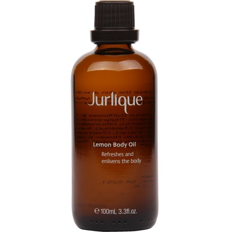 Jurlique Lemon Body Oil Refreshes And Enlivens The Body 100ml