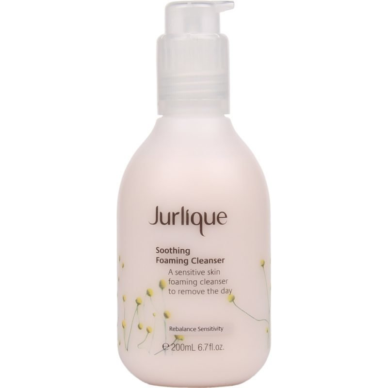 Jurlique Soothing Foaming Cleanser A Sensitive Skin Foaming Cleanser To Remove The Day 200ml