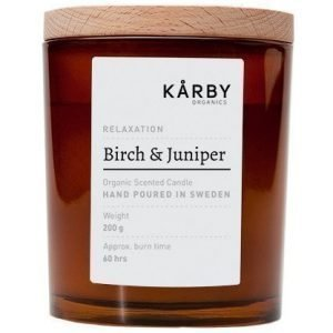 Kårby Organics Original Candle Birch & Juniper