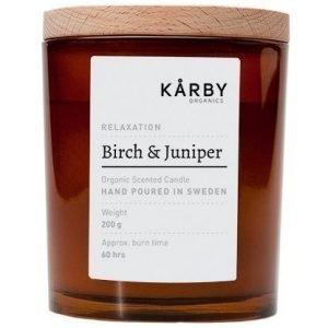 Kårby Organics Original Candle Birch & Juniper