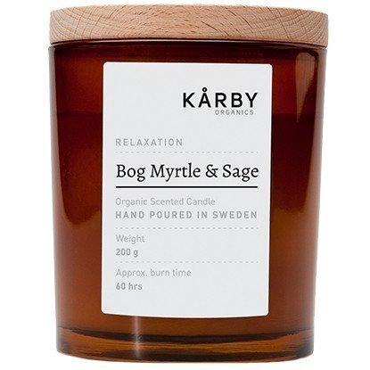Kårby Organics Original Candle Bog Myrtle & Sage