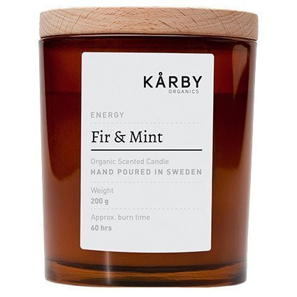 Kårby Organics Original Candle Fir & Mint