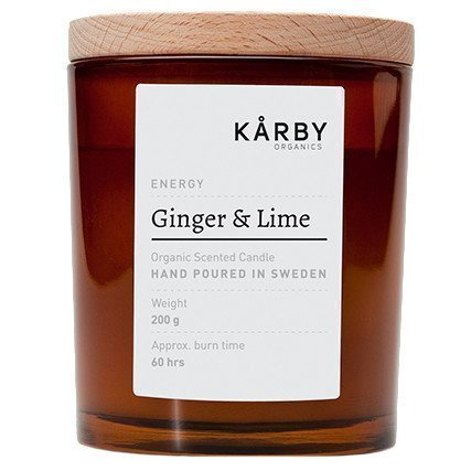 Kårby Organics Original Candle Ginger & Lime