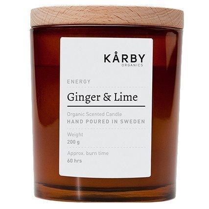 Kårby Organics Original Candle Ginger & Lime