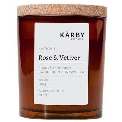 Kårby Organics Original Candle Rose & Vetiver