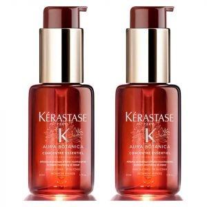 Kérastase Aura Botanica Concentré Essentiel Hair Oil 50 Ml Duo