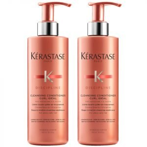 Kérastase Discipline Curl Ideal Cleansing Conditioner 400 Ml Duo