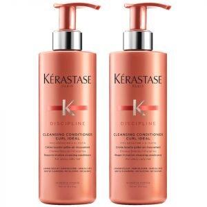 Kérastase Discipline Curl Ideal Cleansing Conditioner 400 Ml Duo