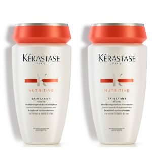 Kérastase Nutritive Bain Satin 1 250 Ml Duo