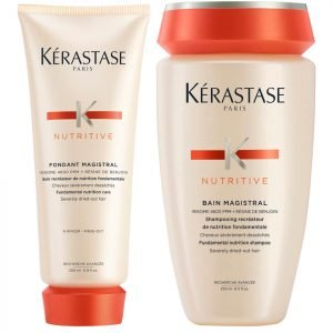 Kérastase Nutritive Fondant Magistral 200 Ml & Nutritive Bain Magistral 250 Ml