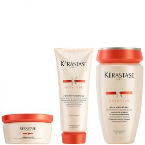 Kérastase Nutritive Fondant Magistral 200 Ml & Nutritive Bain Magistral 250 Ml & Nutritive Creme Magistral 150 Ml