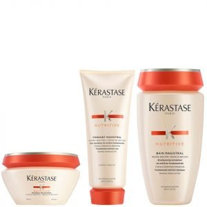 Kérastase Nutritive Fondant Magistral 200 Ml & Nutritive Bain Magistral 250 Ml & Nutritive Masque Magistral 200 Ml