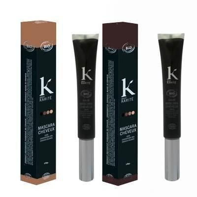 K Pour Karité Organic Hair Mascara Chatain Foncé