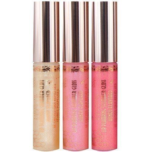 Kardashian Beauty Lip Plumping Shimmer Gloss Revved Up Rose Gold