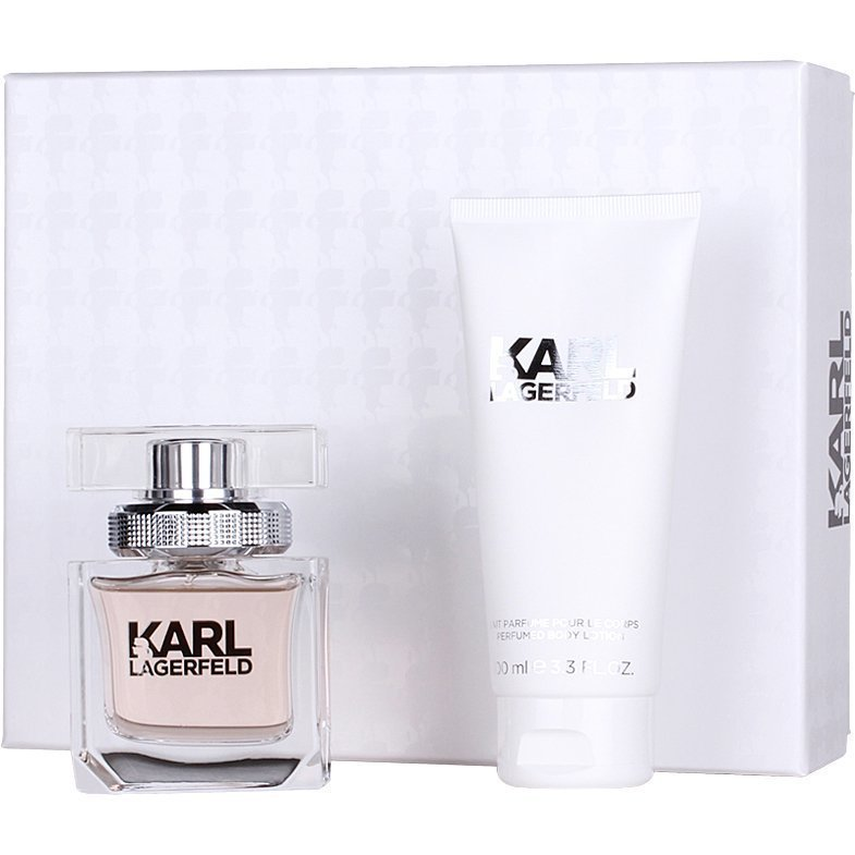 Karl Lagerfeld For Women Giftset EdP 45ml Body Milk 100ml