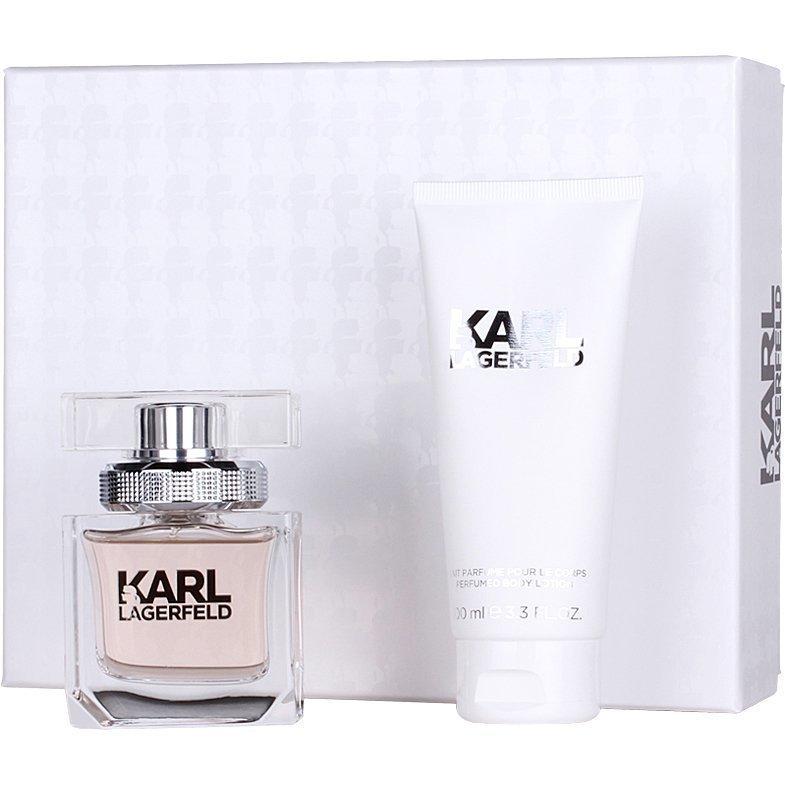 Karl Lagerfeld For Women Giftset EdP 45ml Body Milk 100ml