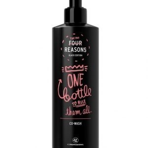 Kc Professional Four Reasons Black Edition Co Wash Hoitopesu 400 ml