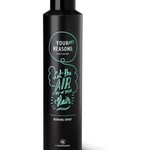 Kc Professional Four Reasons Black Edition Muotoilusuihke 300 ml