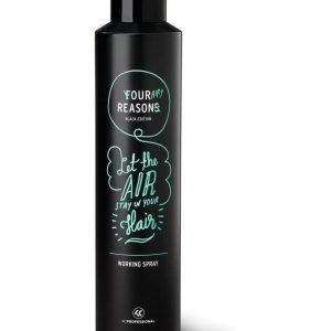 Kc Professional Four Reasons Black Edition Muotoilusuihke 300 ml