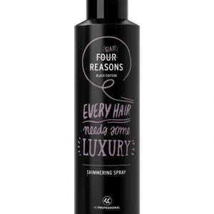 Kc Professional Four Reasons Black Edition Shimmering Spray Viimeistelysuihke 250 ml
