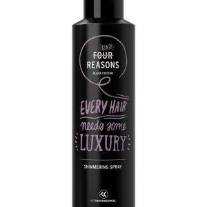 Kc Professional Four Reasons Black Edition Shimmering Spray Viimeistelysuihke 250 ml