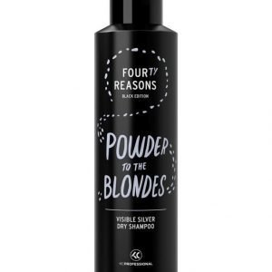 Kc Professional Four Reasons Black Edition Visible Silver Dry Shampoo Hiuspuuteri 250 ml