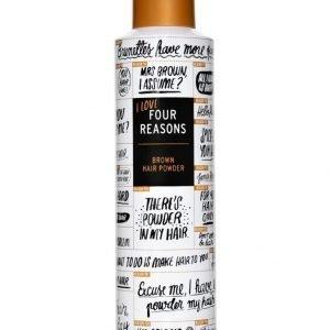 Kc Professional Four Reasons Brown Hair Powder Hiuspuuteri Tummille Hiuksille 250 ml