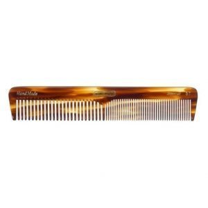 Kent Brushes Long Medium Sized Dressing Table Comb Fine/Coarse - Handmade