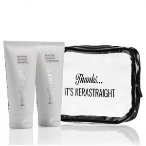 Kerastraight Moisture Enhance Shampoo / Conditioner Travel Bag