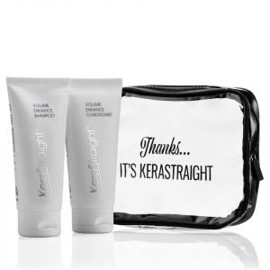 Kerastraight Volume Enhance Shampoo / Conditioner Travel Bag