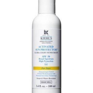 Kiehl's Activated Sun Protector Face Spf 50 Aurinkosuojavoide 100 ml