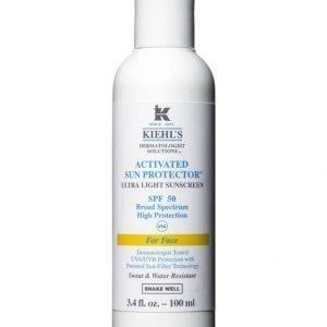 Kiehl's Activated Sun Protector Face Spf 50 Aurinkosuojavoide 100 ml