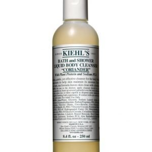 Kiehl's Bath And Shower Liquid Body Cleanser Coriander 250 ml Suihkugeeli