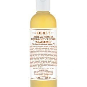 Kiehl's Bath And Shower Liquid Body Cleanser Grapefruit 250 ml Suihkugeeli