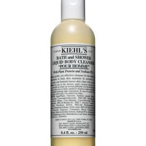 Kiehl's Bath And Shower Liquid Body Cleanser Pour Homme Suihkugeeli 250 ml