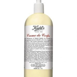 Kiehl's Creme De Corps Body Lotion With Pump Vartaloemulsio 1000 ml