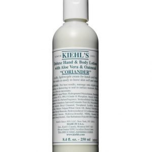 Kiehl's Deluxe Hand & Body Lotion With Coriander Vartaloemulsio 250 ml