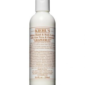 Kiehl's Deluxe Hand & Body Lotion With Grapefruit Vartaloemulsio 250 ml