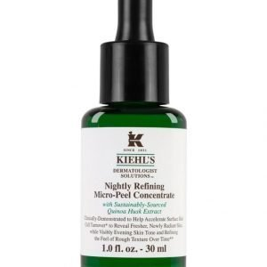 Kiehl's Dermatologist Solutions Nightly Refining Micro Peel Concentrate Kuorintatiiviste 30 ml
