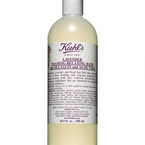 Kiehl's Lavender Foaming Relaxing Bath With Sea Salts And Aloe 500 ml Kylpyvaahto