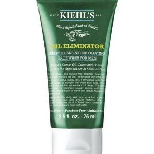Kiehl's Men's Oil Eliminator Deep Cleansing Exfoliating Face Wash Kasvojenpesuaine 75 ml
