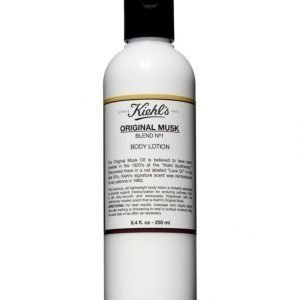 Kiehl's Musk Body Lotion Vartaloemulsio 250 ml