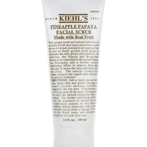 Kiehl's Pineapple Papaya Facial Scrub 100 ml Kuorintavoide