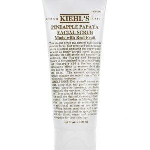 Kiehl's Pineapple Papaya Facial Scrub 100 ml Kuorintavoide