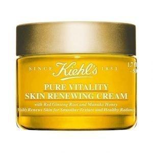 Kiehl's Pure Vitality Skin Renewing Cream Kosteusvoide 50 ml
