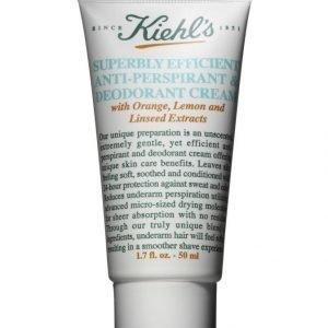 Kiehl's Superbly Efficient Antiperspirant And Deodorant Creme 50 ml Deodorantti